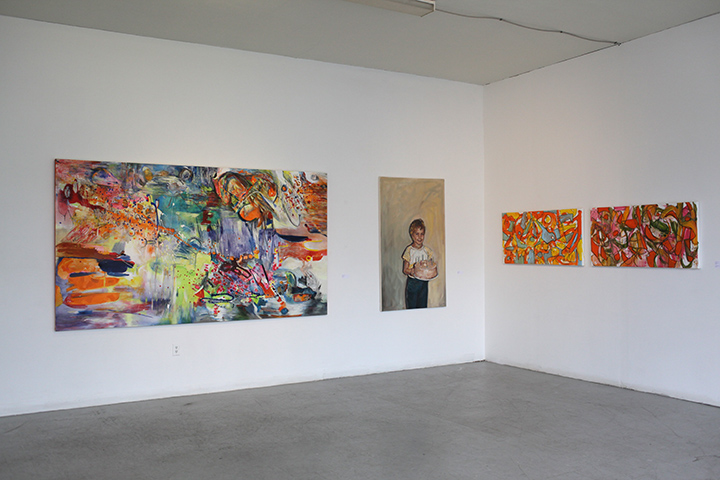 PAINTER8 exhibits SAUCY installation shot