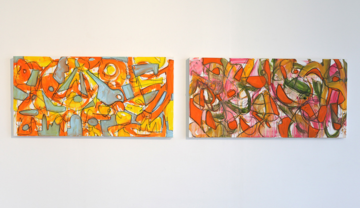 Tim Rechner's paintings