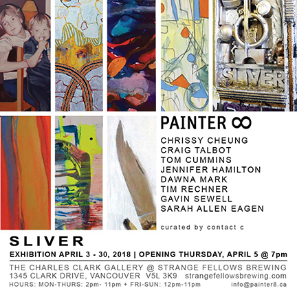 PAINTER8 exhibits SLIVER