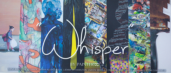 ModArt Gallery- Whisper by PAINTER8 show in Miami